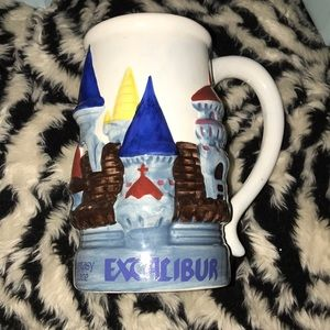 Other - Excalibur 20 oz beer stein/ castle design New 🍒